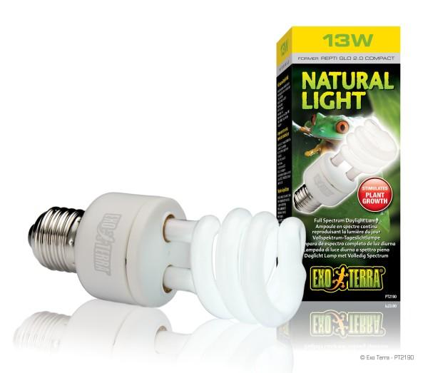 Exoterra Natural Light, Compact Lamp, 13 Watt