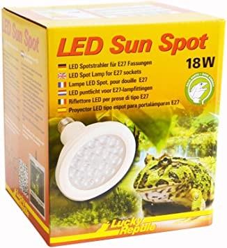 Lucky Reptile LED Sun Spot 18Watt, E27