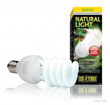 Exoterra Natural Light, Compact Lamp, 25 Watt
