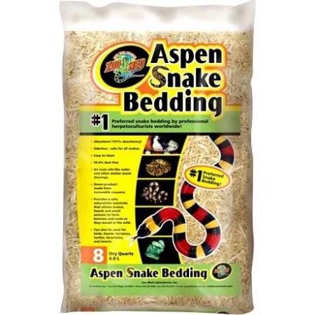 Zoomed Aspen Snake Bedding, Schlangenstreu