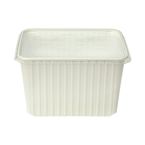Kunststoffdose weiss 2Liter