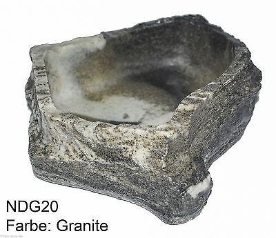 Dragon Felsschale large Granite, 23x18x6,5cm